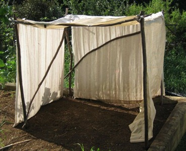 shade cloth on